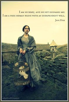 "pinner said, ""Jane Eyre. For all her faults, I think Jane Eyre is still one of the best female characters - or characters, period - ever created. Jane Austen, Elizabeth Gaskell, Charlotte Bronte, Tracy Chevalier, Tomas Moro, Jane Eyre 2006, Best Period Dramas, Period Movies, Ruth Wilson"