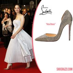 christian louboutin bow-embellished d'orsay pumps