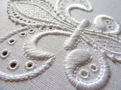 Embroidery Technique | ... embroidery threads, pullwork embroidery techniques, satin stitch in