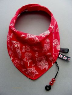 very stylish Bandanna Baby Dribble bib/Neck scarf for the little ones by pupaforkids on #Etsy
