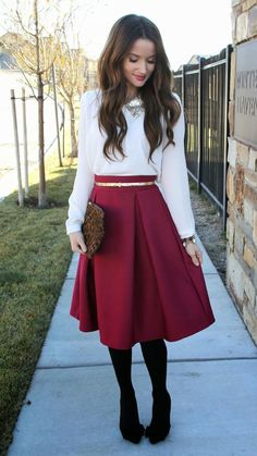 #Modest doesn't mean frumpy. #DressingWithDingity www.ColleenHammond.com