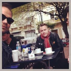 Simon, Mauro and Martin.