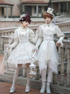 LolitaWardtobe - Bring You the latest Lolita dresses, coats, shoes, bags etc from Trustworthy Taobao indie Brands. We never resell Lolita items from untrustworthy Taobao stores. Harajuku Fashion, Kawaii Fashion, Pink Fashion, Emo Fashion, Old Fashion Dresses, Fashion Outfits, Dress Fashion, Pretty Outfits, Cute Outfits