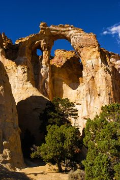 Grosvenor Arch, Grand Staircase-Escalante National Monument, Utah; photo by James Marvin Phelps