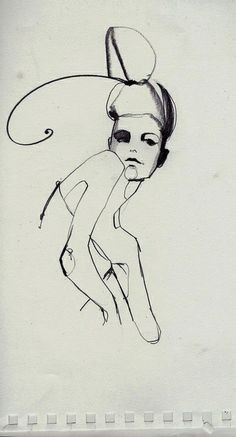 sketch by Ekaterina Koroleva, via Flickr