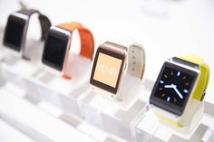 Samsung and Sony took centre stage at the IFA Berlin consumer electronics exhibition to show off their brand new smart watches, the Samsung Galaxy Gear and Sony SmartWatch 2.