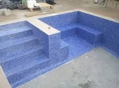 Bildergebnis für escalera de obra para piscina