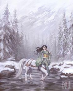 Mythological Monsters, Satyr, Monster Girl, People Art, Poster Making, Mythology, Fantasy Art, Giclee Print, Creatures