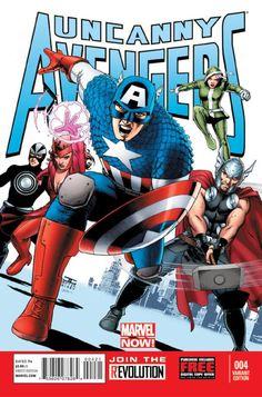 Uncanny Avengers #4 Variant