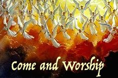 ♪ ♫ Angels from the realms of glory, ♫ ♪ Wing your flight o'er all the earth; ♪ ♫ Ye who sang creation's story ♫ ♪ Now proclaim Messiah's birth. ♪ ♫ Come and worship, come and worship, ♫ ♪ Worship Christ, the newborn King! -Montgomery & Smart   https://www.youtube.com/watch?v=RAtXDcbC1Wk  https://www.youtube.com/watch?v=gudxOtrUXO0