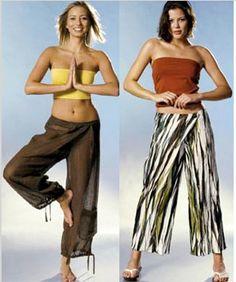 WRAP AROUND Pants Sewing Pattern - Yoga Hip Harem Pant - Sizes 10-22 - Plus Size