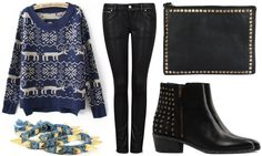 ANNAWII ♥ - BLACK AND BLUE
