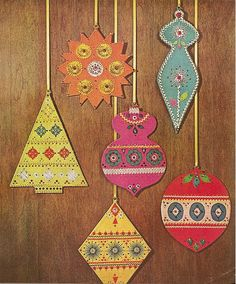 Ornaments from 1966 Better Homes and Gardens (via Modern Kiddo)