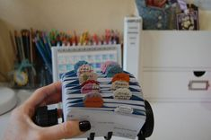 Rolodex for stamps by categories