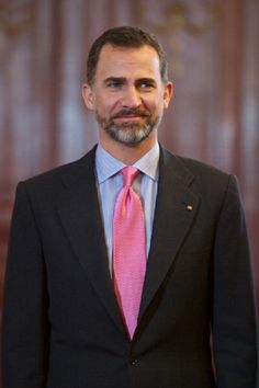 Prince Felipe of Spain attends the 7th German-Hispanic Forum at the Casino de Madrid on 17 April 2013 in Madrid