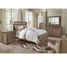 At Badcock, we offer a wide selection of bedroom furniture sets & collections for you to choose from. Browse our bedroom furniture offerings online! Wood Bedroom Sets, Bedroom Furniture Sets, Home Bedroom, Home Furniture, Bedroom Decor, Bedroom Ideas, Master Bedroom, Bedrooms, Platform Bedroom