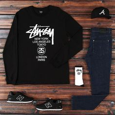 Advice On Buying Fashionable Stylish Clothes – Clothing Looks Outfits Hombre, Boy Outfits, Casual Outfits, Fashion Outfits, Dope Fashion, Urban Fashion, Mens Fashion, Fashion Wear, Estilo Tomboy