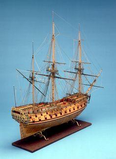 Royal Oak (1741); Warship; Third rate; 70 guns - National Maritime Museum