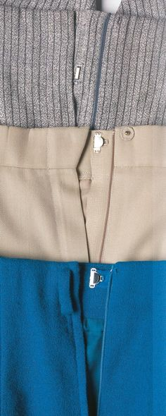 Lapped zippers are easier to insert and look better than centered zippers in almost every situation.