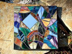 Abstract Mosaic Mirror | by Bamasusanna