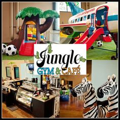 Jungle Gym & Cafe, San Diego's newest indoor play place for kids up to 12 years old and their grown-up companions. Today's deal gets you three visits for $16.50 (a $33 value).