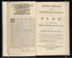 Doble Falsehood (aka Shakespeare's lost play), Lewis Theovald