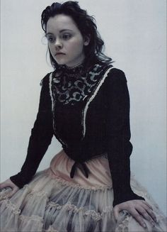 Christina Ricci  People used to tell me that I looked just like her when I was a teenager and a young adult.   <3