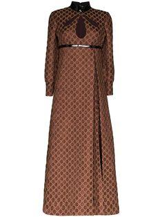 Gucci Kleid Mit Choker In Lackoptik - Farfetch