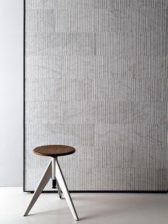 Raw by Salvatori - Bianco Carrara Textured Stone Tile