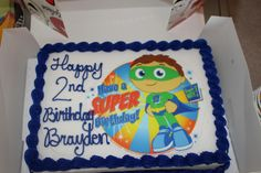happy birthday images brayden | We had a Super Why party his favorite show to watch. This is one of ...