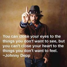 Wise words from Johnny Depp