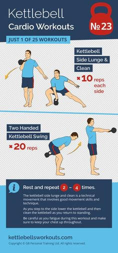 An advanced kettlebell workout that will challenge your movement skills as well as your cardio. #kettlebell #workout #cardio #fitness