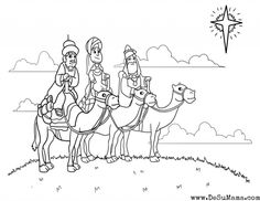 Three Kings Colouring Sheetscoloring Danning With Wise Men Coloring Page