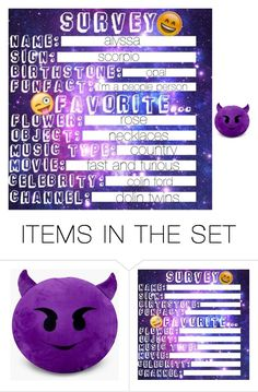 """survey about me"" by bamalife on Polyvore featuring art"