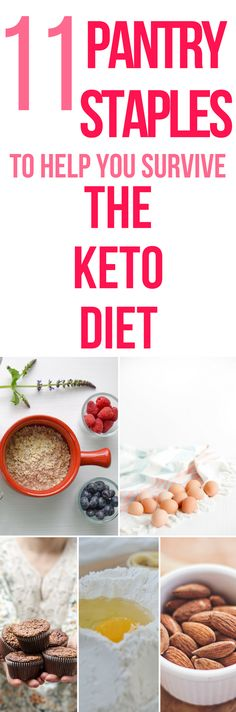 This is a GREAT list of ingredients needed for the keto diet. Some of them might be surprising. #keto #health #recipes #healthysnacks