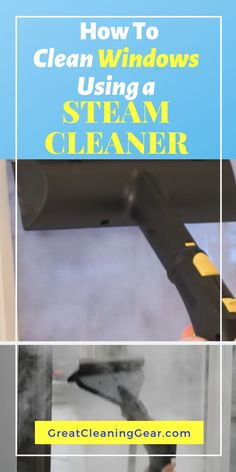 How To Clean Windows Using a Steam Cleaner. Did you also know that you can learn how to use a steam cleaner on windows? Check out this article to see the steps for Using a Steam Cleaner on Windows. Deep Cleaning Tips, House Cleaning Tips, Cleaning Solutions, Spring Cleaning, Cleaning Hacks, Cleaning Recipes, Best Window Cleaner, Best Glass Cleaner, Best Steam Cleaner