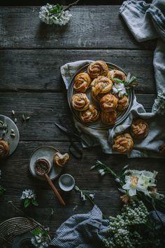 Salted Swedish Cardamom Buns