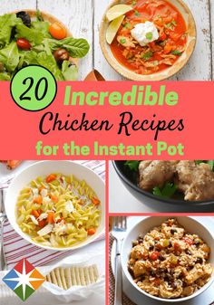 20 Chart-Topping Chicken Recipes for the Instant Pot
