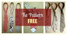 This post may contain affiliate links. Surprise your hubby, son, father, or any friend with a custom made tie in their favorite color. This pattern is for a traditional tie that measures 55 long by wide cm … Read Different Types Of Fabric, Kinds Of Fabric, Fabric Crafts, Sewing Crafts, Sewing Projects, Sewing Patterns Free, Free Sewing, Knitting Patterns, Sewing Men