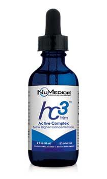 NuMedica hc3 Trim Active Complex - 2 fl oz Don't jump on the wagon of the latest weight loss craze just to do it. Choose something that works and is proven in the scientific literature as a tool to fight obesity: African Mango Extract found in NuMedica hc3 Trim Active Complex.