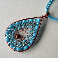 eva55 / Morské oko - náhrdelník