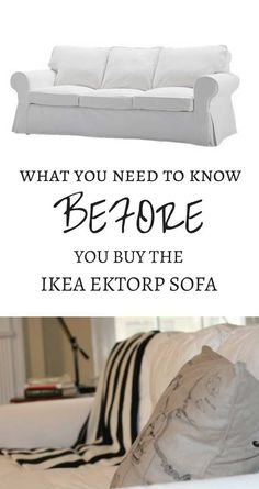 The best way to care for your IKEA Ektorp sofa—or ANY slipcovered sofa or sectional.