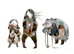 hanselgretelcharactersforweb o Illustrations by Jensine Eckwall.