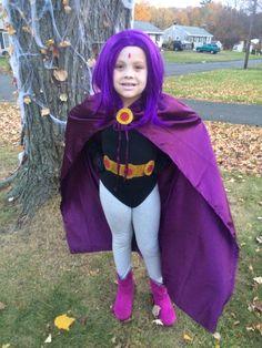 "Raven ""Teen Titans Go"" JaeLynn Teen Titans Raven Costume, Raven Halloween Costume, Raven Teen Titans Go, Halloween 2017, Halloween Stuff, Halloween Party, Eve Costume, Diy Costumes, Costume Ideas"