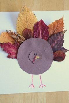 erg geinig om te maken van herfst bladeren !