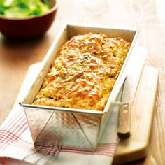 Gâteau aux lardons Recette | Weight Watchers