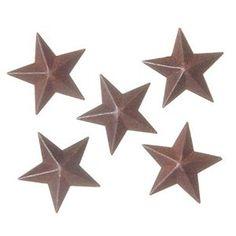 Amazon.com: Bulk Buy: Darice DIY Crafts Star Rustic Tin 1 inch 5 pieces (6-Pack) 6567-66