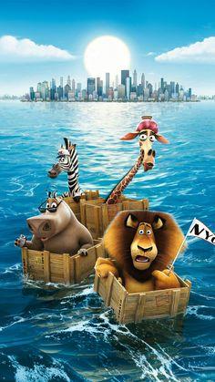 "Wallpaper for ""Madagascar"" Images Disney, Disney Pictures, Disney Art, Kawaii Disney, Disney Phone Wallpaper, Cartoon Wallpaper Iphone, Movie Wallpapers, Cute Cartoon Wallpapers, Garfield Wallpaper"