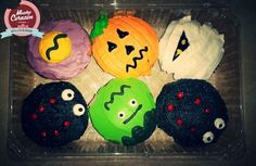 Cupcakes para las epocas de brujas ;)