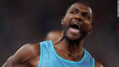 Former Olympic champion Justin Gatlin, who like Gay has served a doping ban during his career, is the fastest 100m runner in 2015. The 33-year-old American clocked 9.74s in Qatar in May.